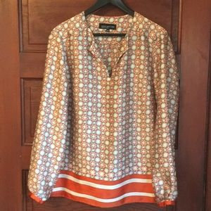 Jones New York printed tunic